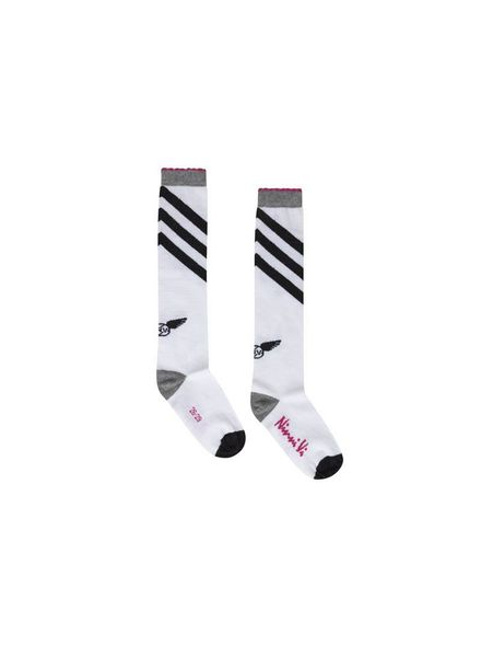 Ninni Vi Socks NVSS18-36 White Katoen Elastan