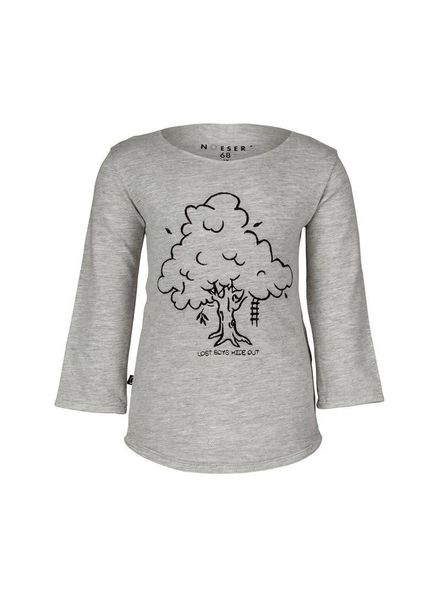 Valentijn Sweater Tree Shadow Grey Katoen