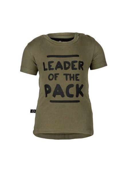 Sepp T-shirt Leader woody green Katoen