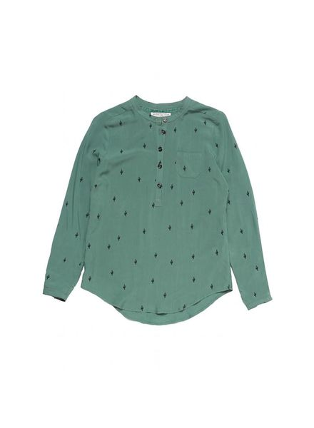Circle of Trust Blouse Palma New Army Katoen