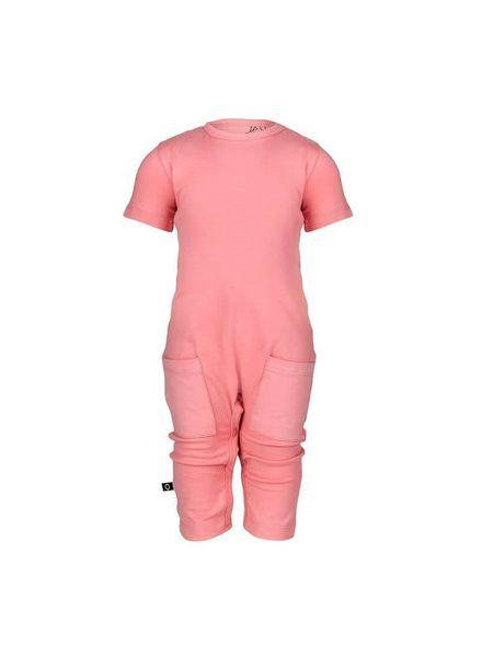 Abel Jumpsuit pink Fairy Pink Katoen