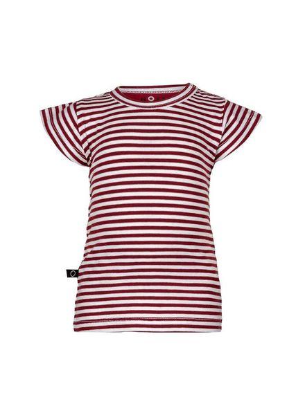 nOeser Ted t-shirt Frill Totem red Katoen