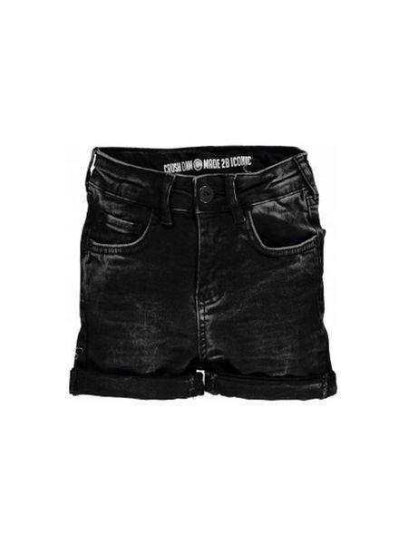 Crush Denim Crush Denim Jeans Short Tusa Black Katoen Elastan