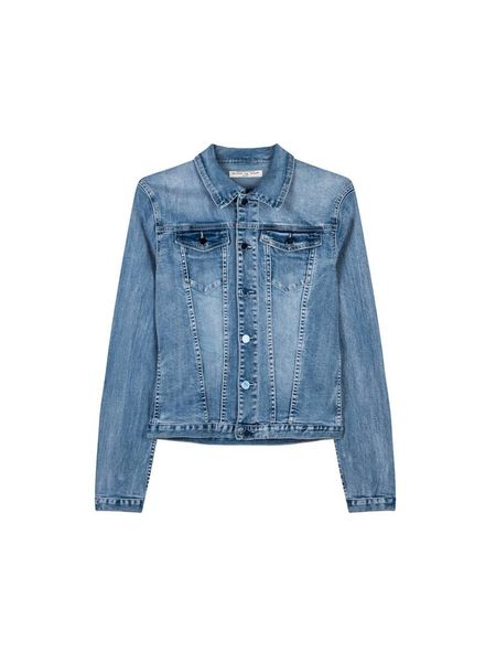 Circle of Trust Denim Jacket Mara Slate Sky Katoen