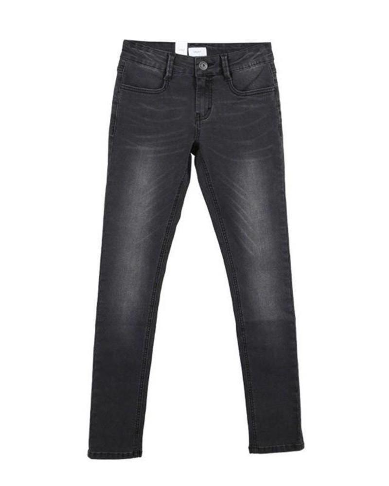 Grunt Grunt Super Skinny Jeans Paint Grey Stone Katoen Elastan