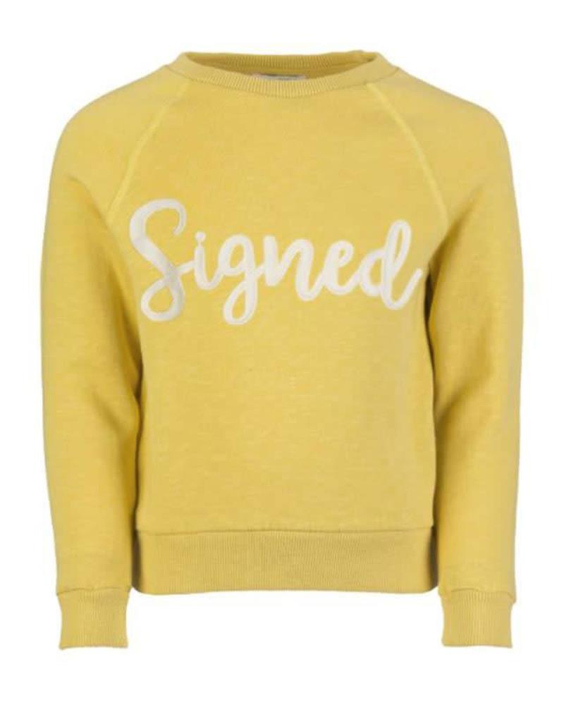 By Bar By Bar signed sweater Bonne picadilly Katoen