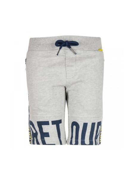 Retour Jeans Retour Jeans Sweat Short Ramon Mid Grey Melange Katoen