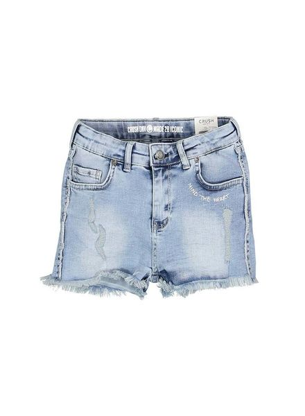 Crush Denim Crush Denim Jeans Short Macey Bleach Katoen
