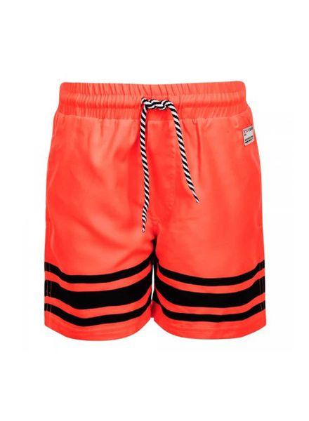 Retour Jeans Retour Jeans Swim Short Boyd Neon Orange