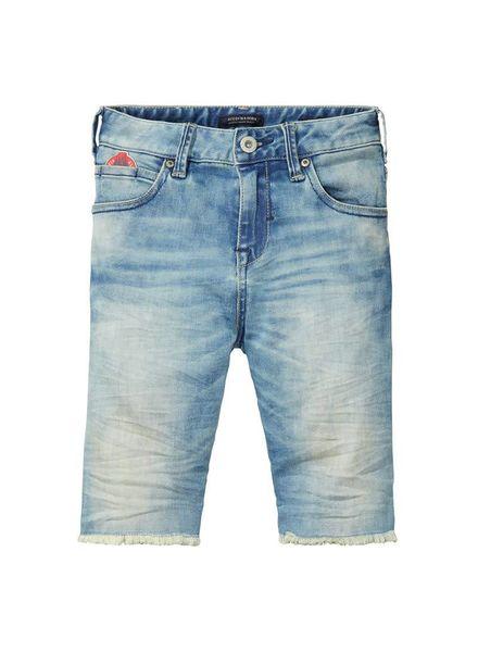Scotch Shrunk Scotch Shrunk  short Jeans Fleet 134517 0Q Katoen Elastan