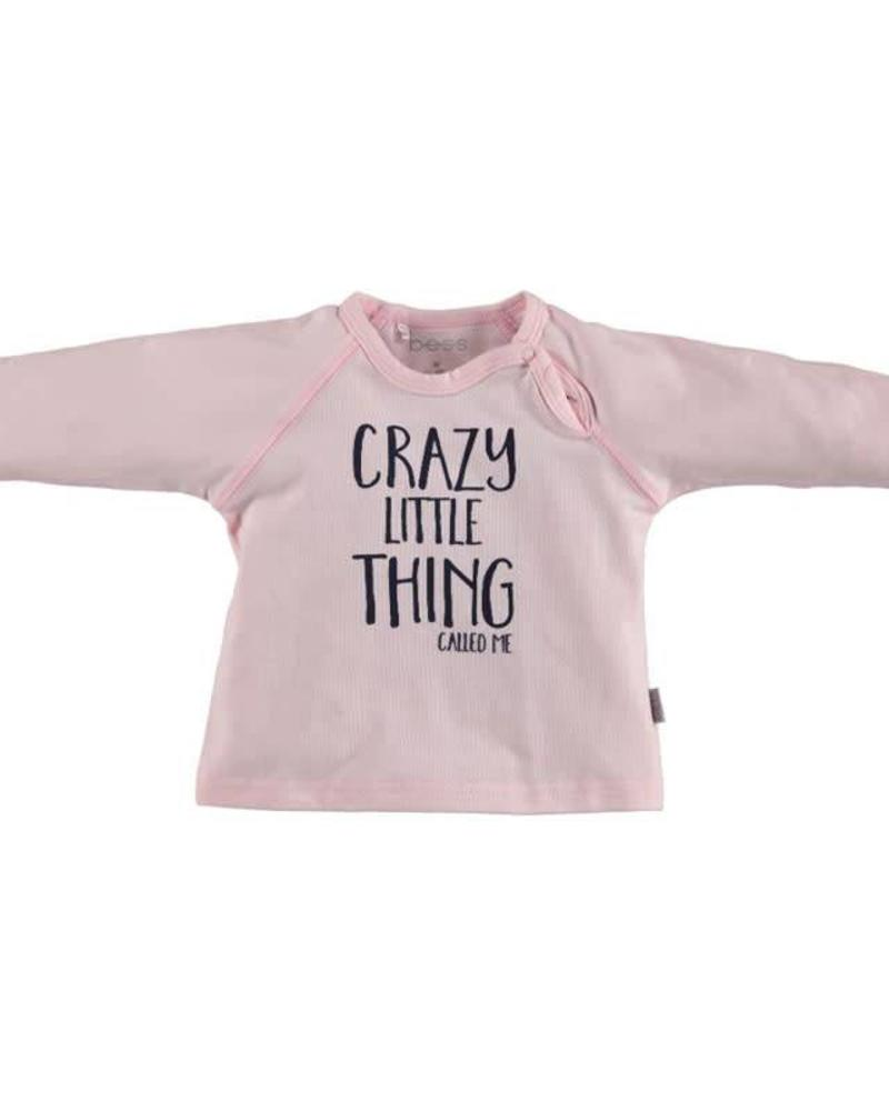 b.e.s.s. Bess longsleeve Crazy little things pink Katoen