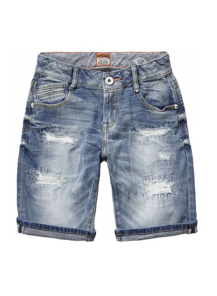 Vingino Vingino strech-jeans bermuda  Creston Katoen Elastan