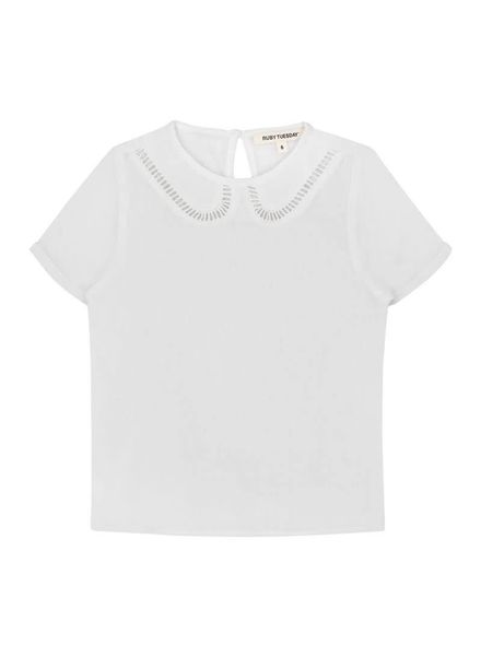 Ruby Tuesday Miss Ruby Tuesday Blouse Werea Wit Katoen