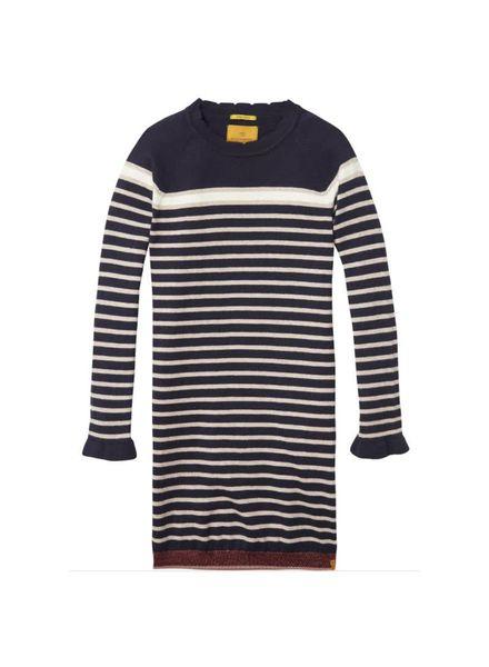 Scotch Rebelle Knitted dress 140470 218 Katoen