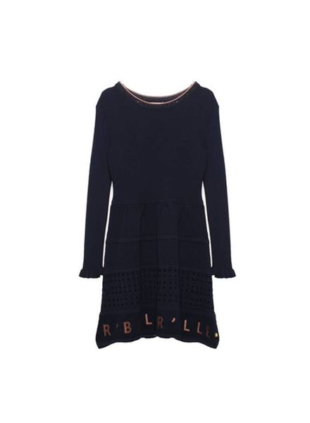 Scotch Rebelle Pointelle Knit dress 140473 002 Katoen