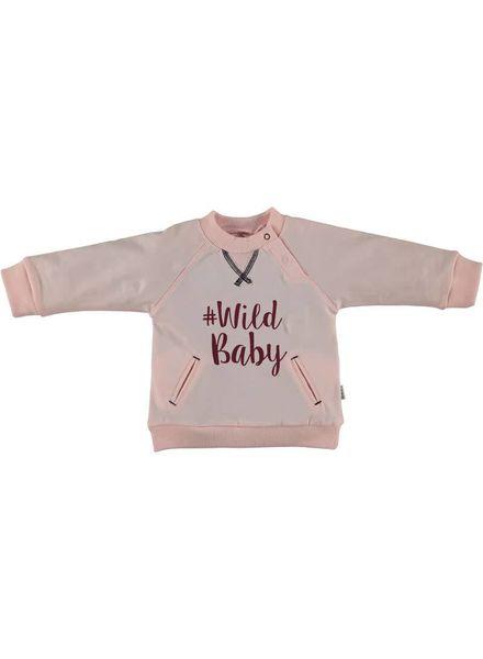 b.e.s.s. Sweater Girls Wild Baby 1758 007 Katoen