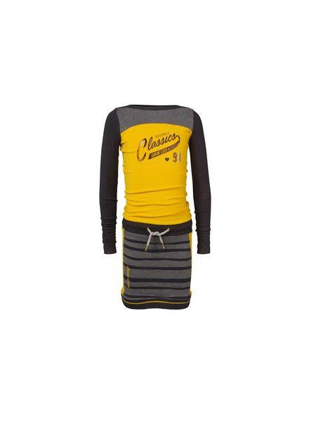 Ninni Vi Dress NVFW17-10 Yellow Katoen Elastan
