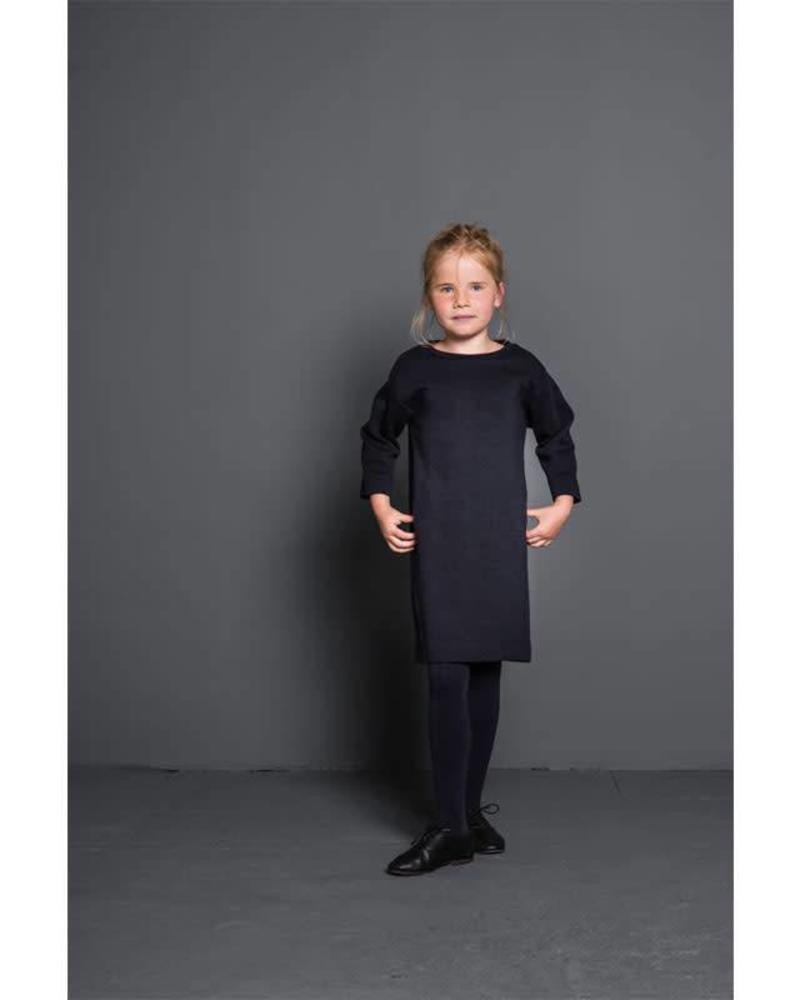 By Bar By-Bar dress Tess dark navy Katoen Elastan