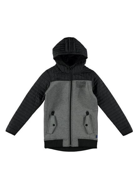 Retour Jeans Vest Jacket Tonio Antra/Black Katoen Elastan