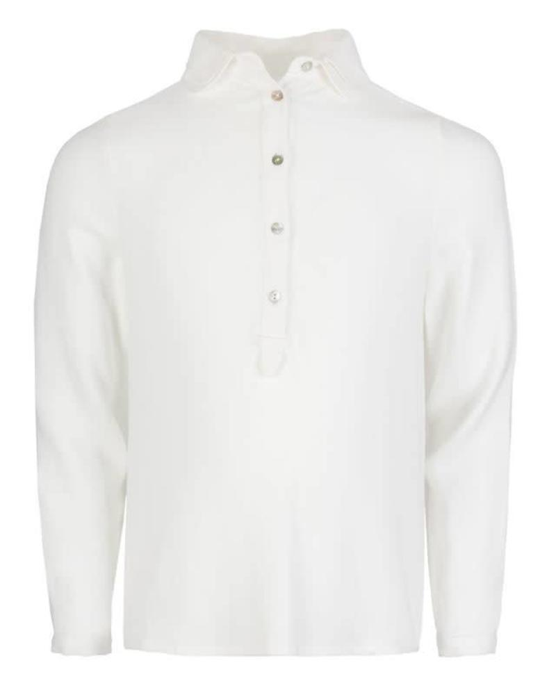 By Bar By-Bar Simone Blouse Off White