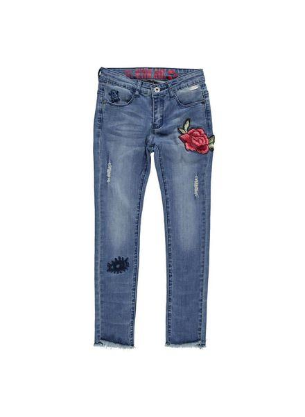Retour Jeans Skinny Aicha Jeansblue Katoen Elastan