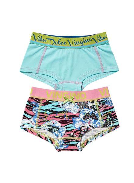Vingino 2-pack shorts G154-1faboulus Katoen Elastan