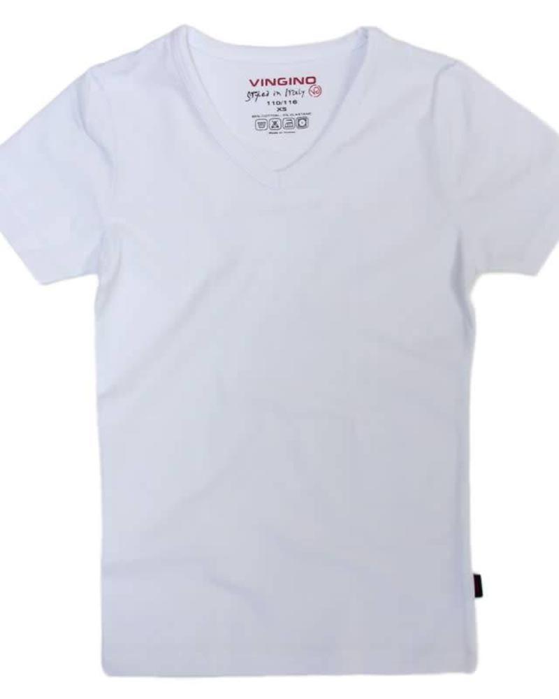 Vingino Shirt V-neck White