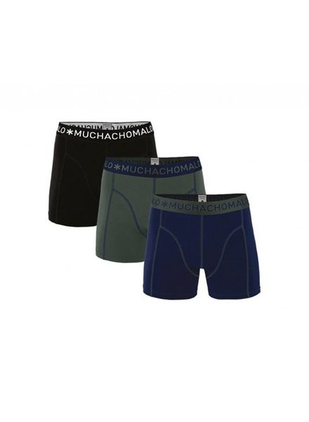 Muchachomalo Short 3-pack 1010JSOLID186