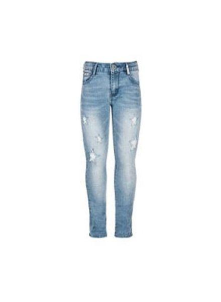 Retour Jeans with stars Sakia Light Denim Katoen Elastan