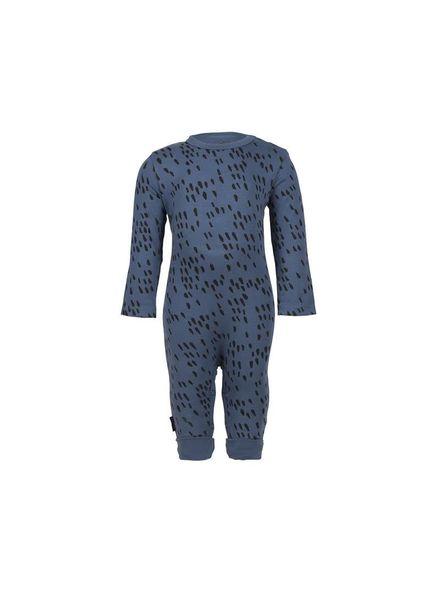 nOeser Jumpy Jumpsuit Sprinkle Blue Katoen Elastan