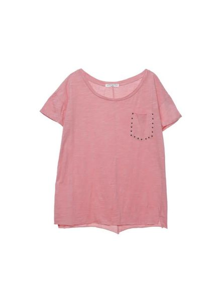 Circle of Trust T-shirt Reese Pink Lemonade Katoen