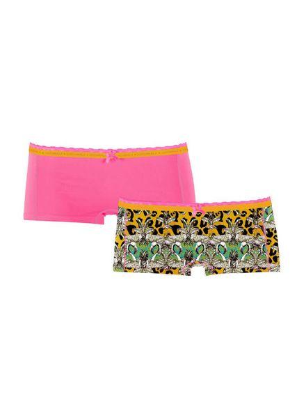 Muchachomalo Muchachomalo girls 2-pack short JParax01 Katoen Elastan