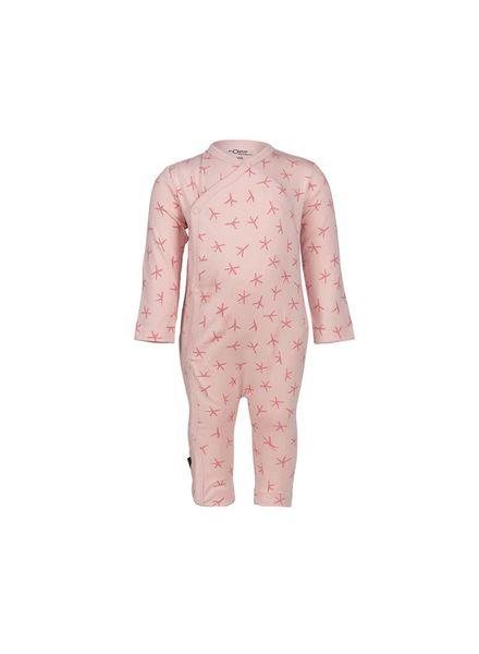nOeser nOeser Jumpsuit Joyce Bird Foot Pink Katoen Elastan
