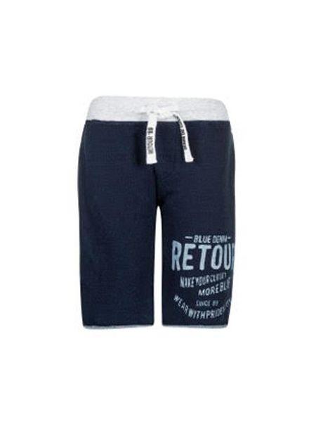 Retour Jeans Retour Jeans Jogging Short Maxim Indigo Blue Katoen Elastan