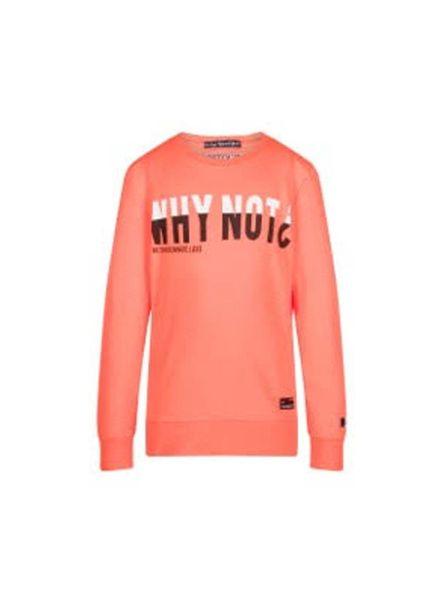 Retour Jeans Sweater Levi  Neon Oranje Katoen Elastan