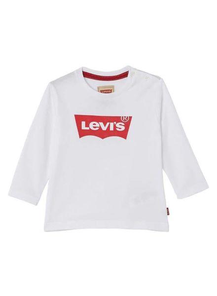 Levi's longlseeve  18ENL10204 white Katoen