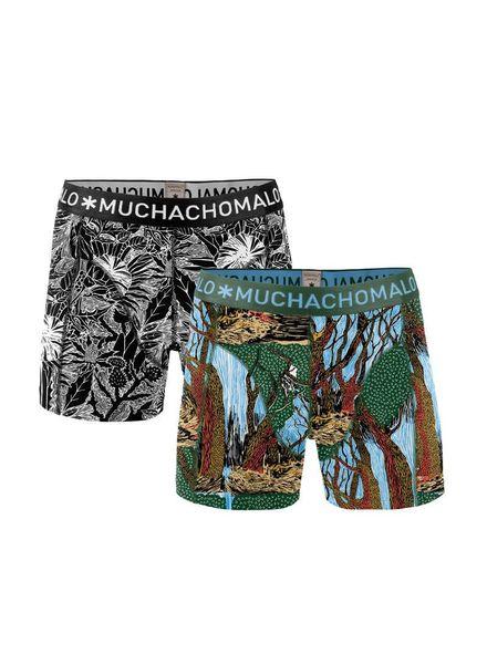 Muchachomalo short 2-pack Jwoody04 Katoen Elastan