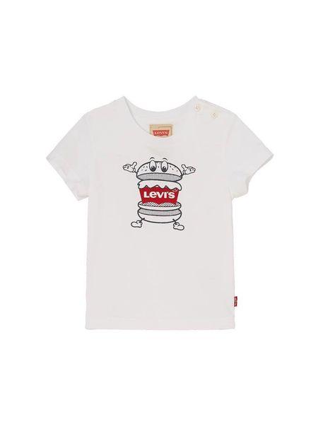Levi's T-shirt 18ENL10064 white Katoen