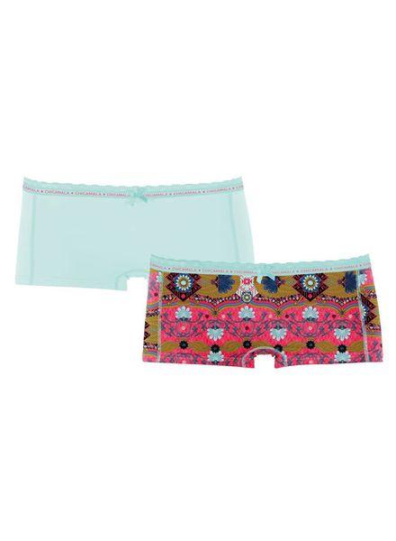 Muchachomalo girls 2-pack short JPersix01 Katoen Elastan