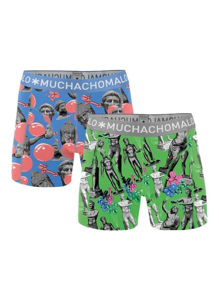 Muchachomalo short 2-pack JGumx04 Katoen Elastan