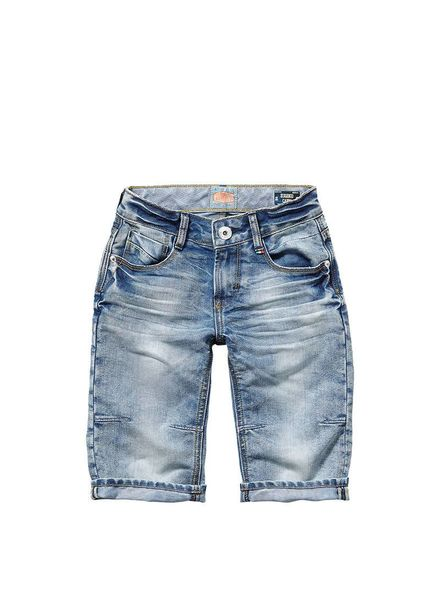 Vingino Vingino jeans short Eugenio 100 Katoen
