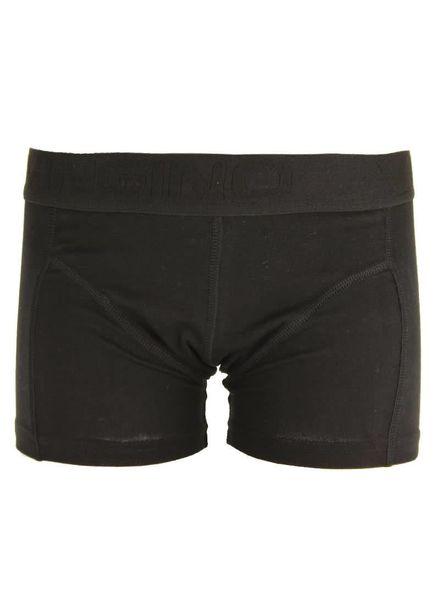 Vingino short Basic Boys 2-pack Black Katoen Elastan