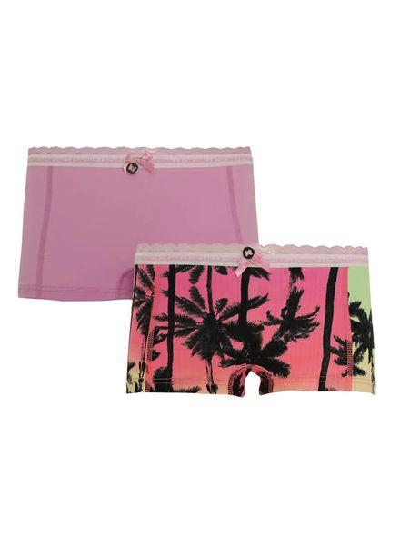Muchachomalo Girls Short 2-pack 1213JSUN01 Katoen Elastan