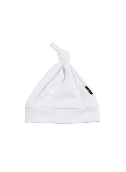Bowie Hat Bow White Katoen Elastan