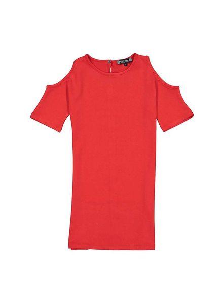 Crush Denim Crush Denim Dress Erin Red Katoen