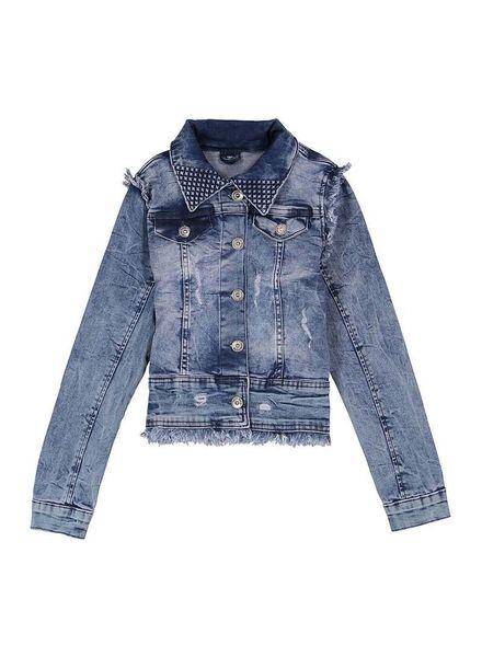Crush Denim Crush Denim Jacket Judie Blue Katoen