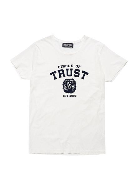 Circle of Trust Tee Manuel Atrium White Katoen