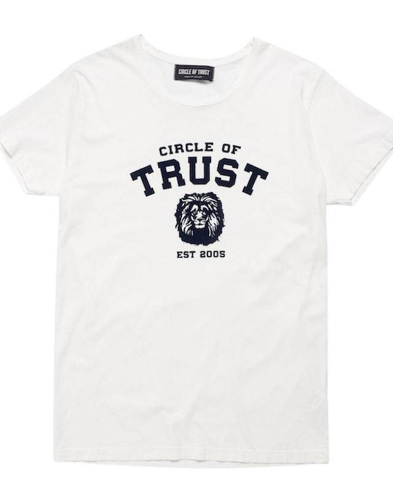 Circle of Trust Circle of Trust Tee Manuel Atrium White Katoen