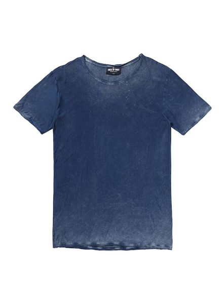 Circle of Trust Tee Ace Mood Indigo Katoen
