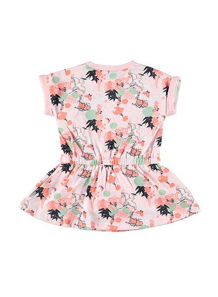 b.e.s.s. Bess Dress Flowers 1850-007 Katoen